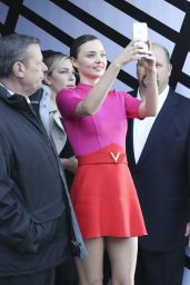 Miranda Kerr - Leaves Louis Vuitton Fashion Show in Paris 10/5/2016
