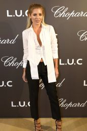 Mollie King - Cocktail Opening Of The Chopard Exhibition in London 10/11/2016