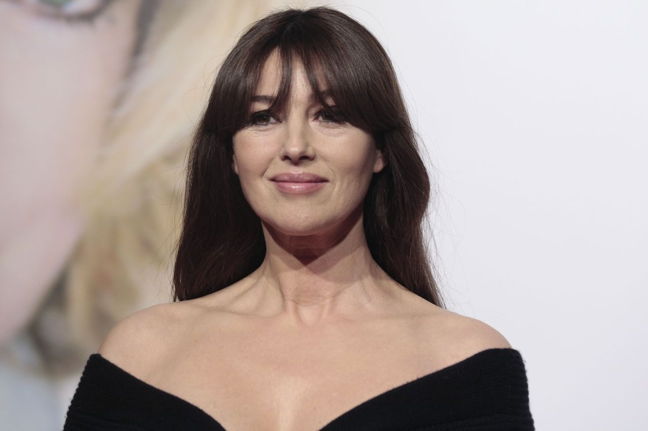 Monica Bellucci – Lumiere Festival Opening – Lyon in France 10/8 ... Monica Bellucci