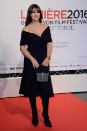 Monica Bellucci - Lumiere Festival Opening - Lyon in France 10/8/2016