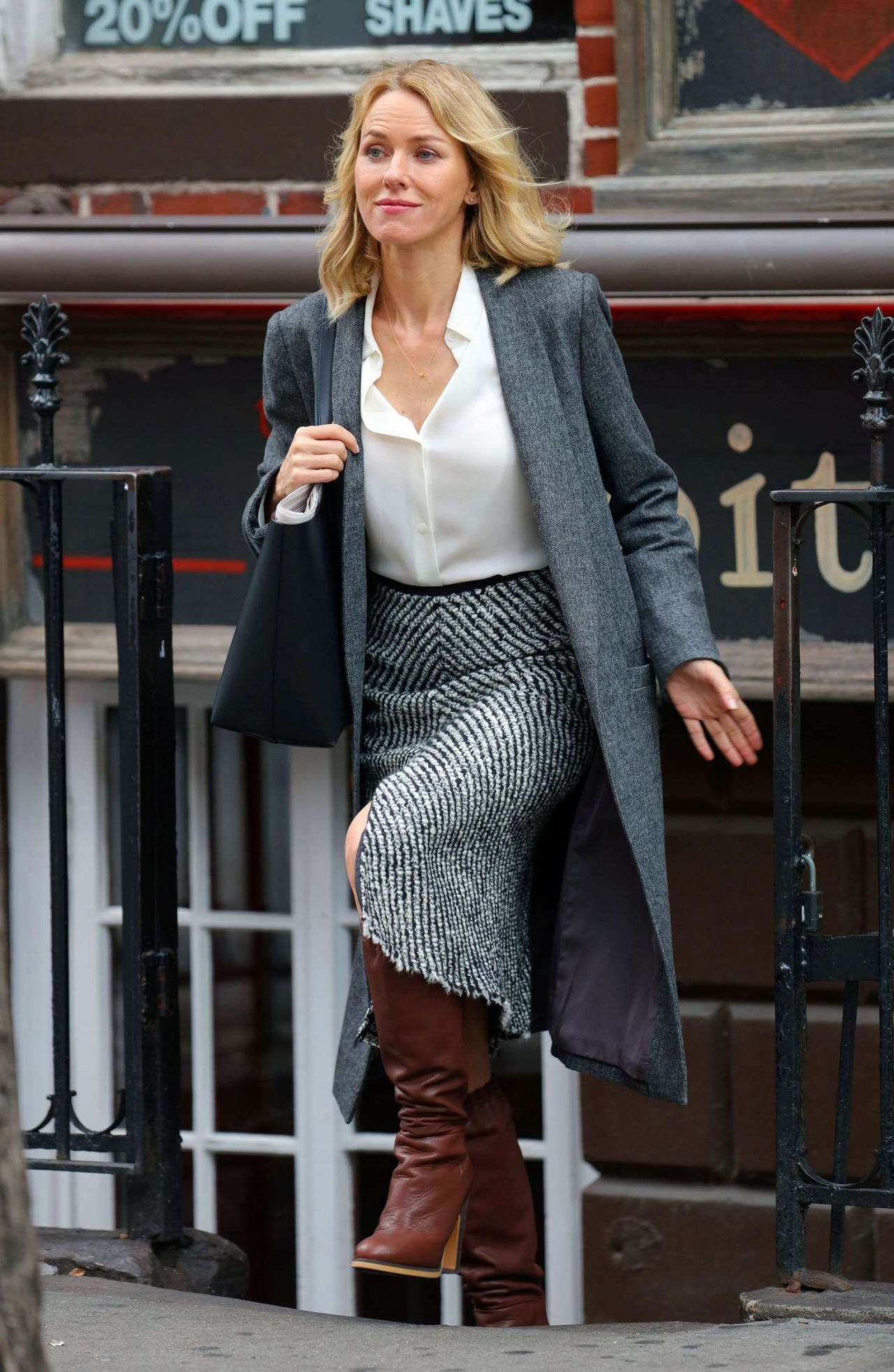 Naomi Watts Style and Fashion Inspirations – NYC 9/28/2016