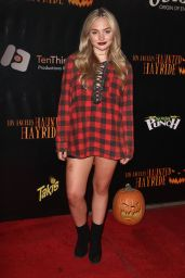 Natalie Alyn Lind – Los Angeles Haunted Hayride in Los Feliz 10/9/ 2016
