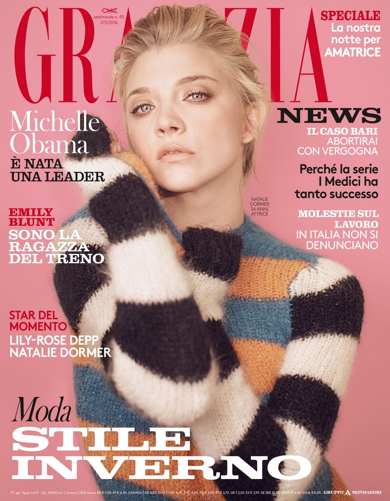 Grazia Magazine Italia November 2016 Issue