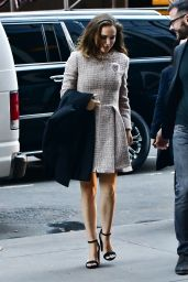Natalie Portman - Out in New York City 10/16/ 2016