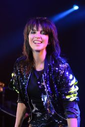 Nena - Performs at the Playstation Theater Opening in NYC With Her Daughter