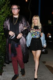 Nicola Peltz - Arrives at the Delilah Club in West Hollywood 10/14/ 2016