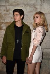 Nicola Peltz at Givenchy Show - Paris fashion Week 10/2/2016