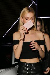 Nicola Peltz - Leaving a Dinner in West Hollywood, October 2016