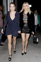 Nicola Peltz - Leaving Catch LA With a Friend, Los Angeles 10/18/ 2016