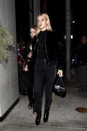 Nicola Peltz Night Out Style - at Catch L.A. in West Hollywood 10/17/ 2016