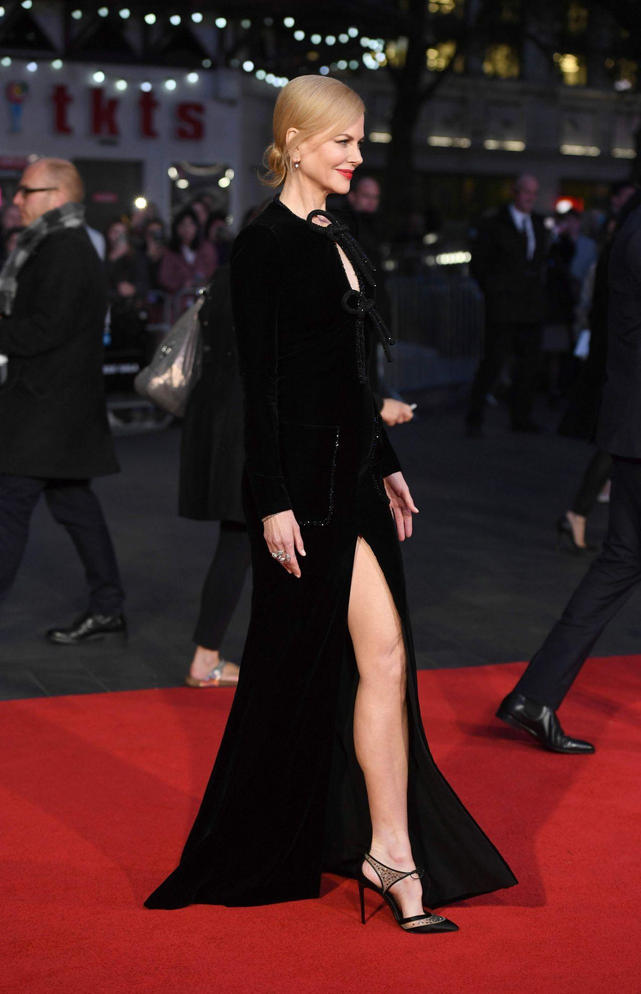 Nicole Kidman On Red Carpet Lion Premiere At London