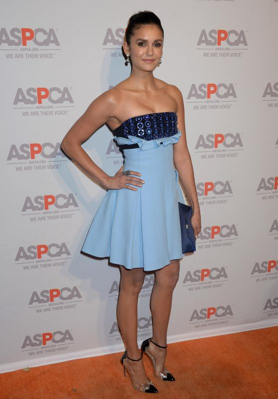 Nina Dobrev - ASPCA's Los Angeles Benefit 10/20/ 2016