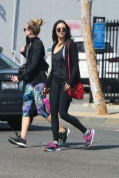 Nina Dobrev - Leaving a Gym in West Hollywood 10/13/ 2016