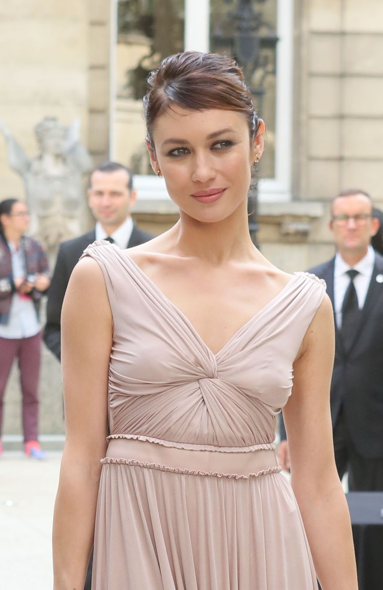Olga Kurylenko Arrives at the Valentino Show – Paris Fashion Week 10 ...