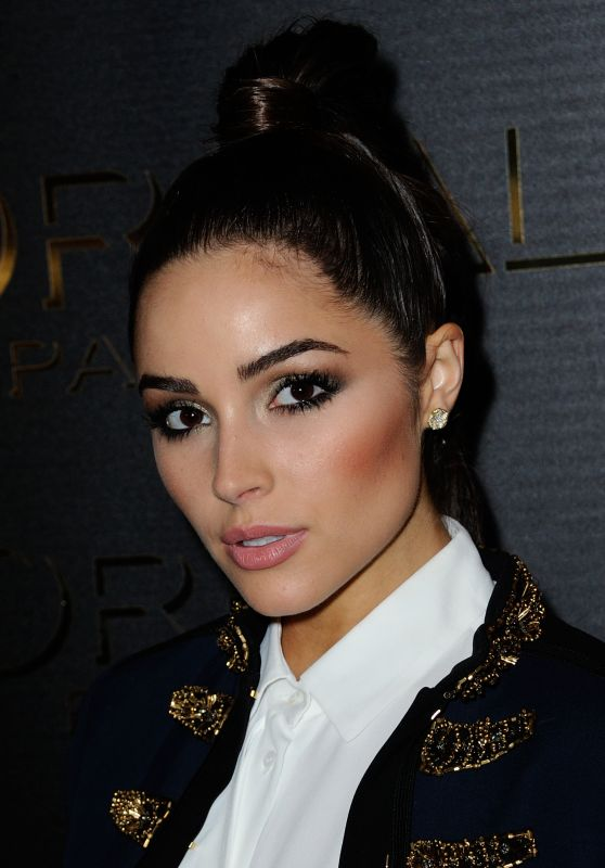 Olivia Culpo at Gold Obsession Party - Paris Fashion Week 10/2/2016