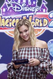 Olivia Holt - Celebrates the Upcoming Launch of the Disney Magical World 2 Game in NYC 10/1/2016