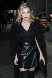 Olivia Holt Chic Outfit - Out in NYC 10/1/2016