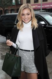 Olivia Holt is Looking All Stylish - Out in NYC 9/30/2016