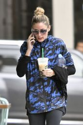 Olivia Palermo - After a Workout Session in New York City 10/8/2016
