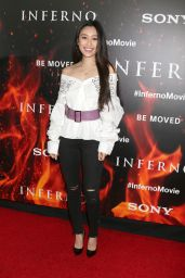 Olivia Sui – 'Inferno' Premiere in Los Angeles