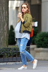 Olivia Wilde - Out and About in New York City 10/6/ 2016