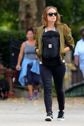 Olivia Wilde - Out in Brooklyn 10/17/ 2016
