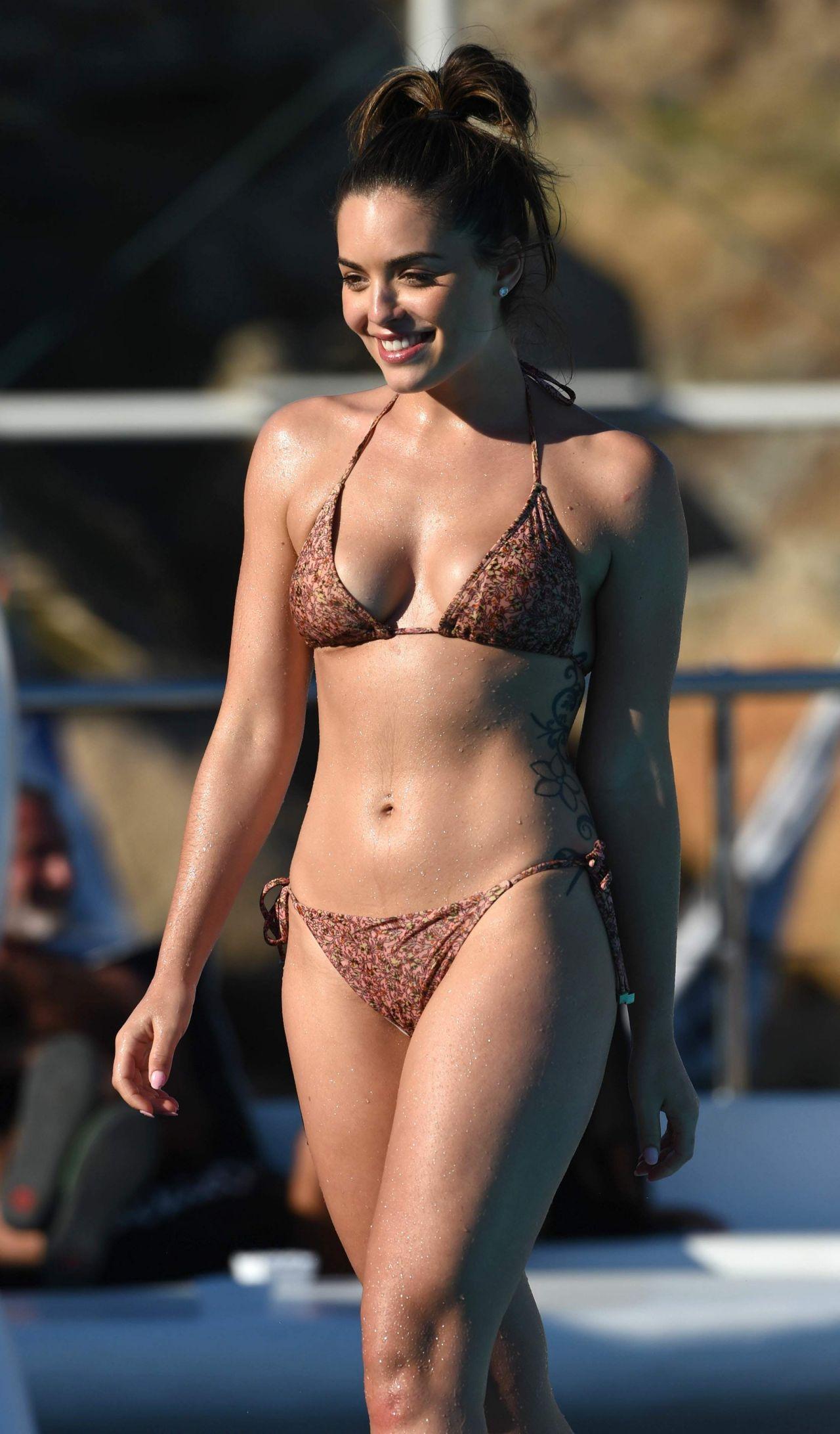 Olympia Valance Hot In Bikini Mykonos 10102016