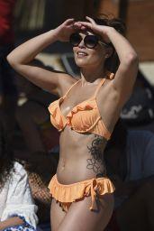 Olympia Valance Hot in Bikini - Mykonos 10/3/2016