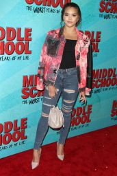 Paris Berelc – 'Middle School: The Worst Years of My Life' Premiere in Los Angeles 10/05/2016