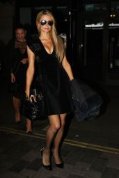 Paris Hilton at Club Movida in London 10/07/2016