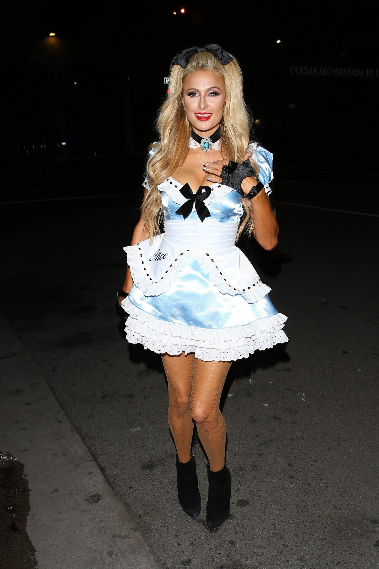 Paris Hilton - 'Trick or treats!' Magazine Halloween Party LA 10 ...