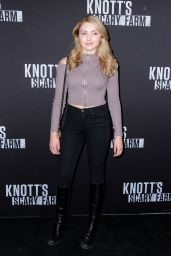 Peyton Roi List – Knott's Scary Farm Opening Night in Buena Park, CA 9/30/2016