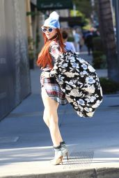 Phoebe Price - Shopping in Beverly Hills 10/5/2016