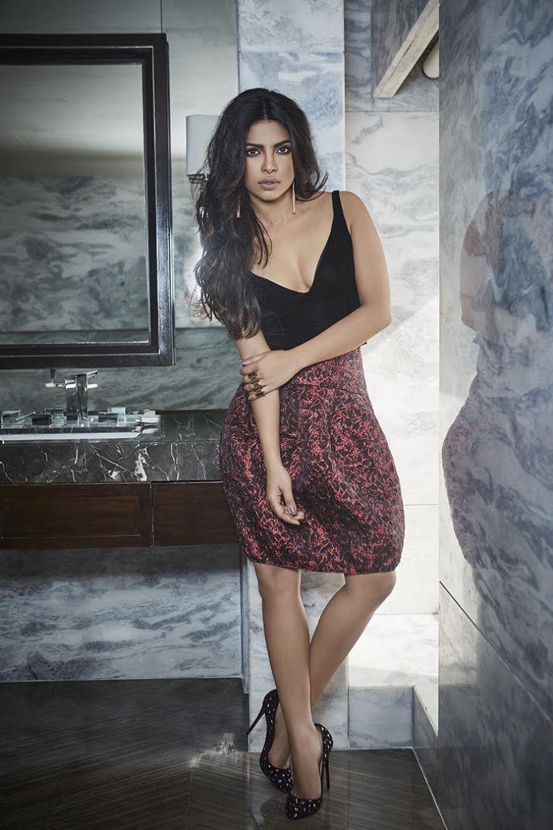 Priyanka Chopra Filmfare Magazine India October 2016