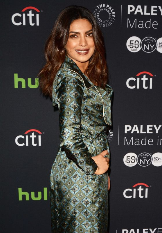 Priyanka Chopra - Quantico at The Paley Center For Media in New York City 10/17/ 2016