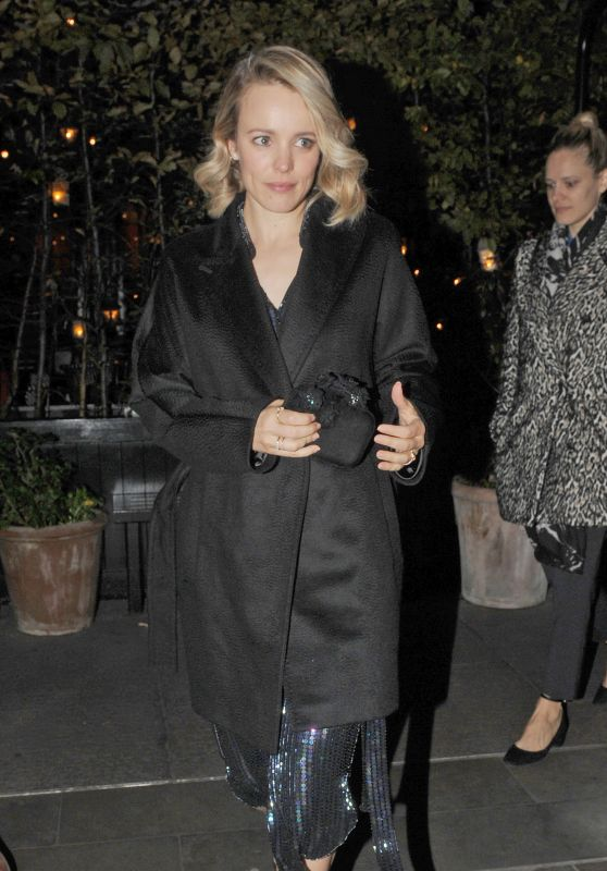 Rachel McAdams - Leaving Chiltern Firehouse in London 10/25/ 2016