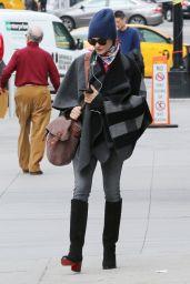 Rachel Weisz Autumn Street Style - New York 10/16/ 2016