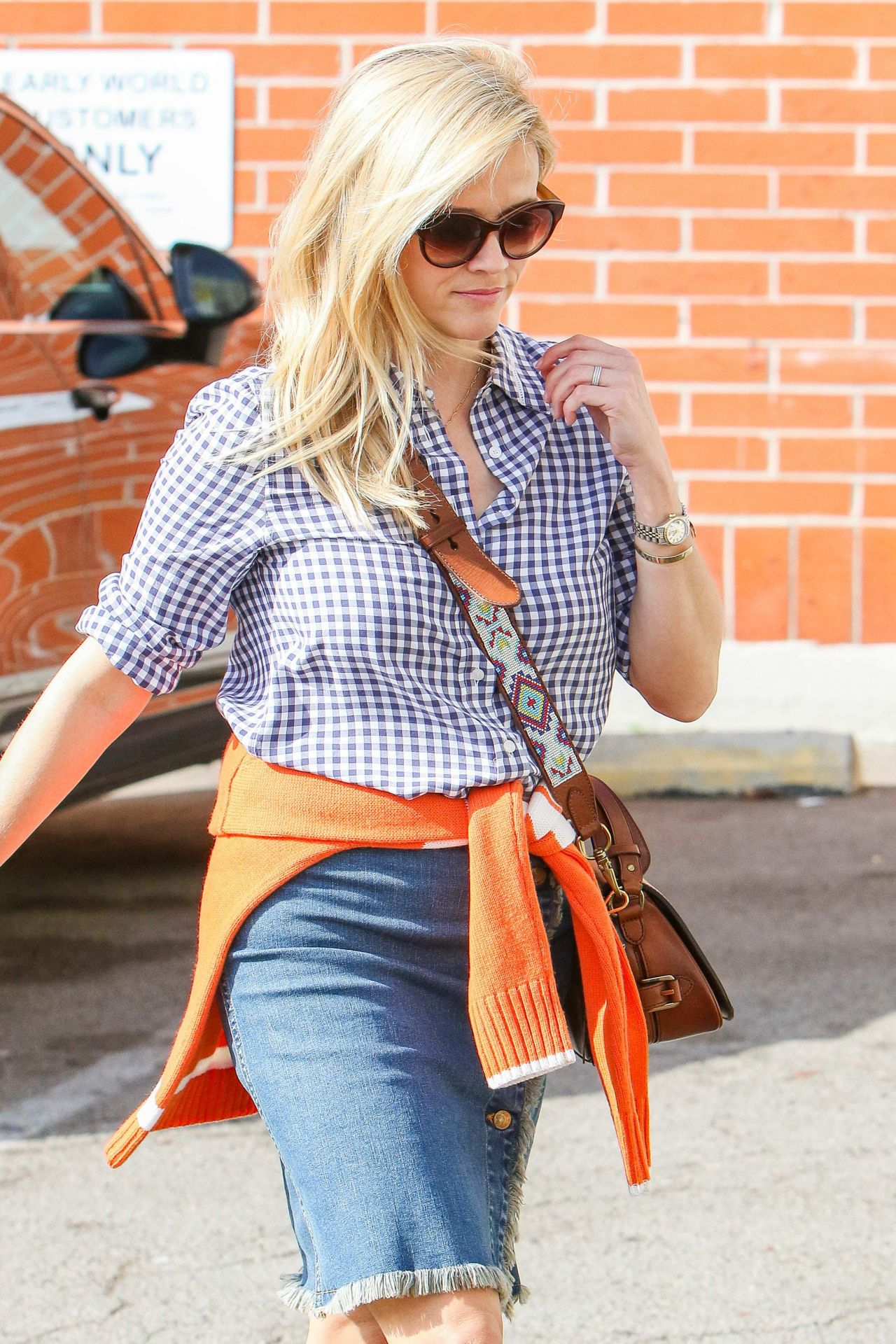 Reese Witherspoon Casual Style Los Angeles 10 24 2016
