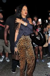 Rihanna Night Out in New York City 10/18/ 2016