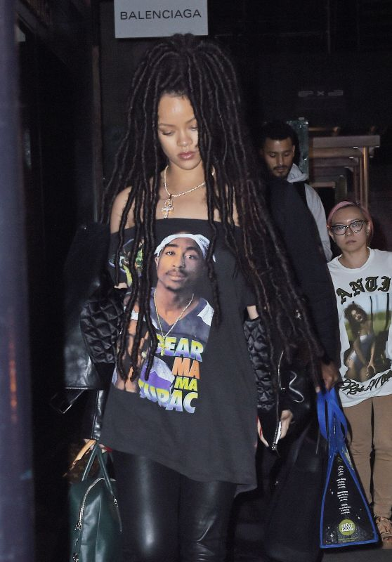 Rihanna Night Out Style - Manhattan 10/4/2016