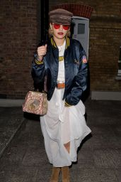 Rita Ora - Leaving a Recording Studio in West London, September 2016