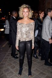 Rose Bertram Arriving at the L'Oreal Gold Obsession Party in Paris 10/2/2016