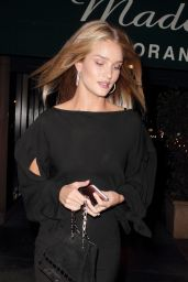 Rosie Huntington-Whiteley at Madeo Restaurant in Hollywood, October 2016