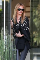Rosie Huntington-Whiteley in Beverly Hills 10/25/ 2016