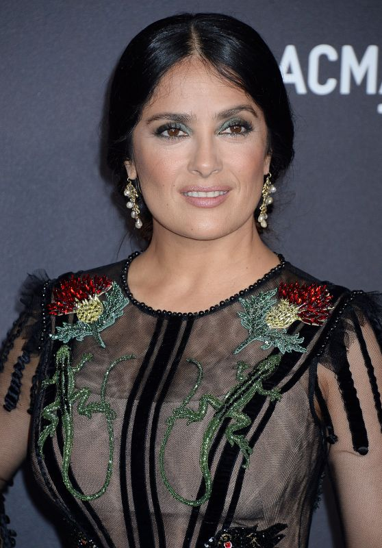 Salma Hayek – 2016 LACMA Art and Film Gala in Los Angeles