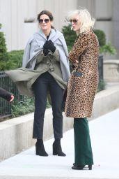 Sandra Bullock & Cate Blanchett - Oceans 8 Filmset in New York City 10/25/ 2016