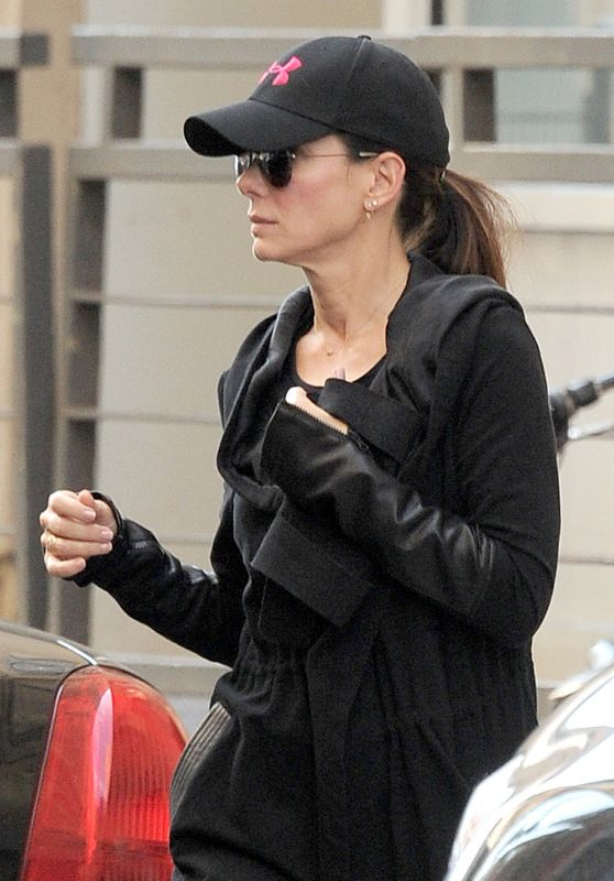 Sandra Bullock - Out in New York City 10/18/ 2016