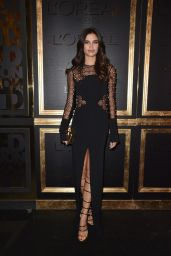 Sara Sampaio at Gold Obsession Party – Paris Fashion Week 10/2/2016