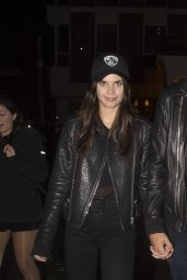 Sara Sampaio - Leaves Tape Night Club in London 10/13/2016