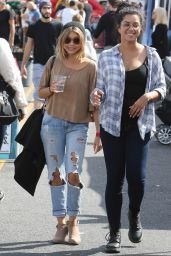 Sarah Hyland - Out in Los Angeles 10/16/ 2016
